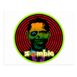 ¡Zombi Obama 2012! Tarjeta Postal