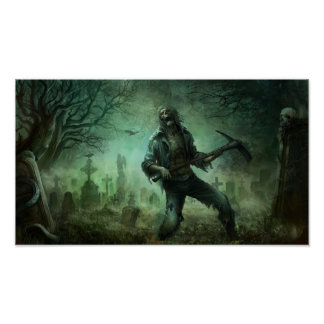 Zombi, posters póster