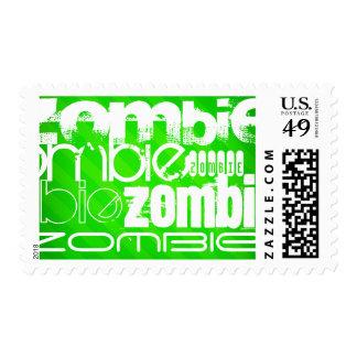 Zombi; Rayas verdes de neón Sellos