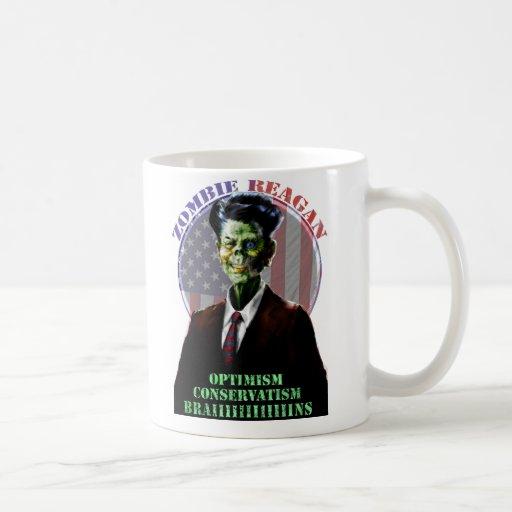 ¡Zombi Reagan de Moar! Tazas