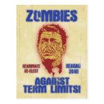 Zombi Reagan - límites de mandato Postal