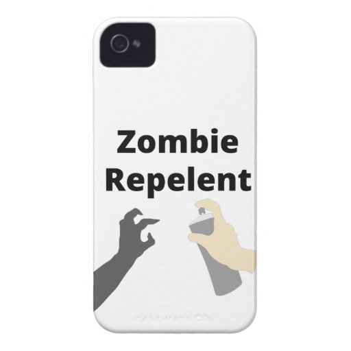 Zombi Repelent Case-Mate iPhone 4 Fundas