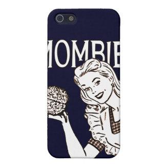Zombi retro de Mombie iPhone 5 Cárcasa