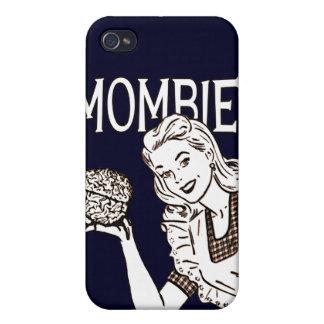 Zombi retro de Mombie iPhone 4/4S Carcasas