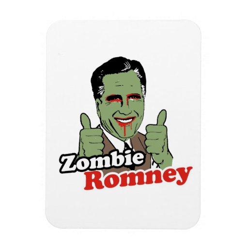 Zombi Romney.png Imán De Vinilo