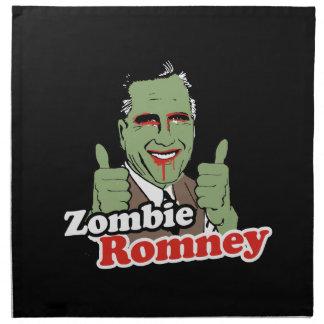 Zombi Romney Servilleta