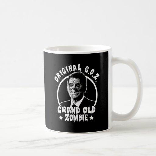 Zombi Ronald Reagan Taza De Café