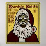 Zombi Santa Póster