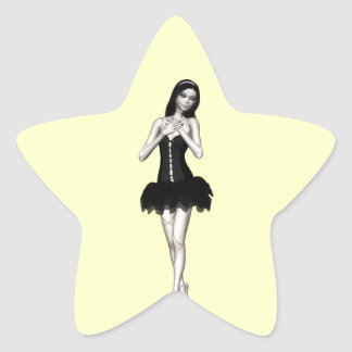 Zombi Suzy 1 - muñeca de Halloween Colcomanias Forma De Estrellaes Personalizadas