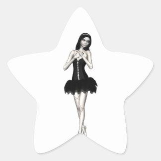 Zombi Suzy 1 - muñeca de Halloween Calcomanías Forma De Estrellaes