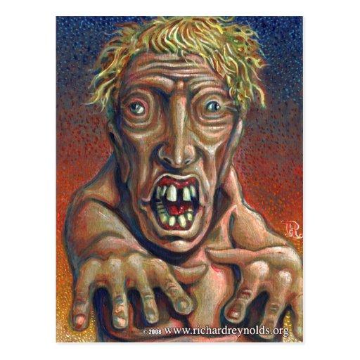 zombi tarjetas postales