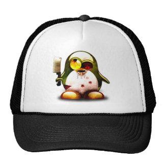 Zombi Tux (Linux Tux) Gorros Bordados