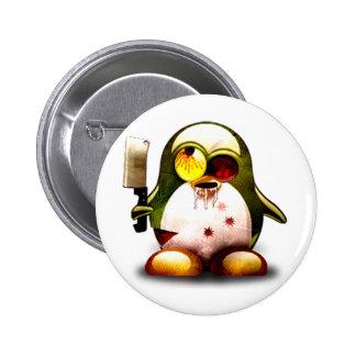 Zombi Tux (Linux Tux) Pins