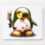 Zombi Tux (Linux Tux) Tapetes De Ratones