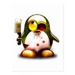 Zombi Tux (Linux Tux) Tarjetas Postales