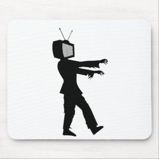 Zombi TV Mouse Pad
