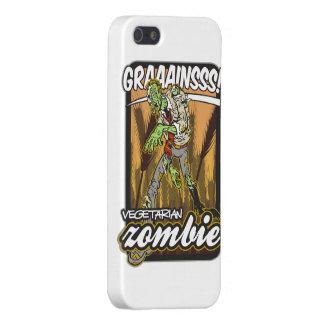Zombi vegetariano iPhone 5 funda