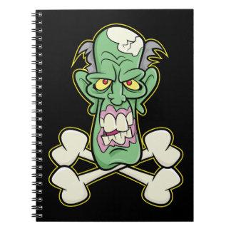 """Zombi Xbones """"002"""" cuaderno"""