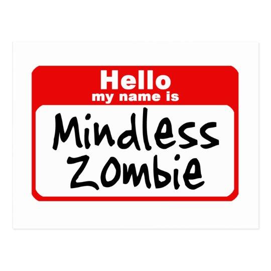 zombie2 postcard