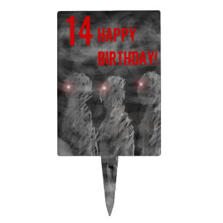 Zombie Cake Toppers Zazzle