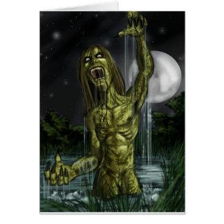 zombie-1 tarjeta de felicitación