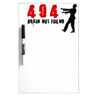 Zombie 404 Dry-Erase boards