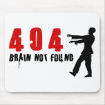 Zombie 404 mouse pad
