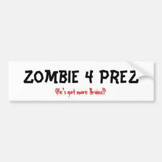 Zombie 4 Prez Bumper Sticker