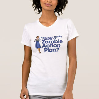 Zombie Action Plan T Shirts