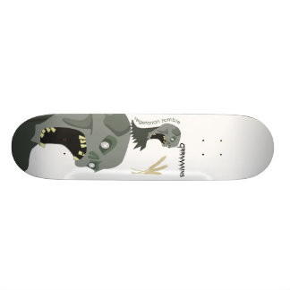 Zombie.ai, Vegetarian Zombie wants Graaaains! Skateboard Deck