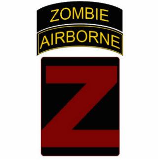 Zombie Airborne Stand Photo Statuette