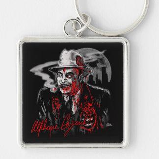 Zombie Al Capone (Al Cazombie) Keychain