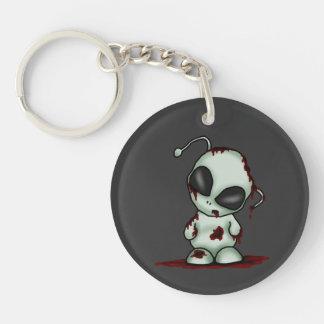 Zombie Alien Keychain