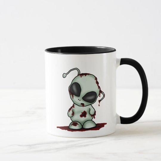 Zombie Alien Mug