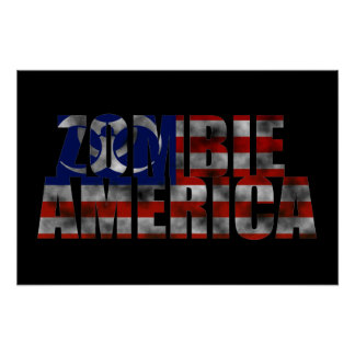 Zombie America Poster