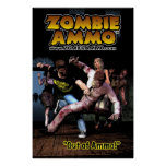 """Zombie Ammo™ - """"Out of Ammo!"""" Poster"""