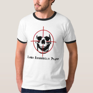 Zombie Annihilation Program T Shirt