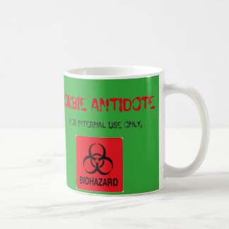 Zombie Antidote Coffee Mug