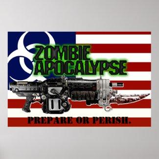 Zombie Apocalypse America Poster