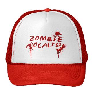 Zombie Apocalypse Baseball Cap - Horror Movie Fan Trucker Hat