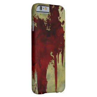 Zombie Apocalypse Blood Line Barely There iPhone 6 Case