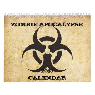 Zombie Apocalypse Calendar