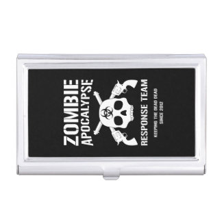 Zombie Apocalypse Case For Business Cards
