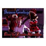 Zombie Apocalypse Christmas Card - 001