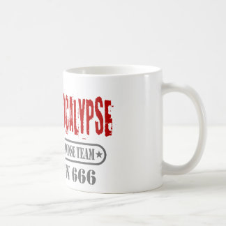 Zombie Apocalypse Division 666 Coffee Mug