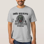 Zombie Apocalypse Emergency Response Division T Shirts