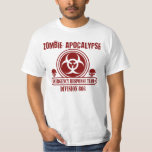 Zombie Apocalypse Emergency Response Team T-Shirt