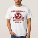 Zombie Apocalypse Emergency Response Team Tee Shirt