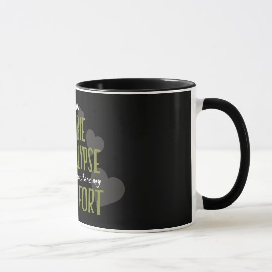 Zombie Apocalypse Fort Mug