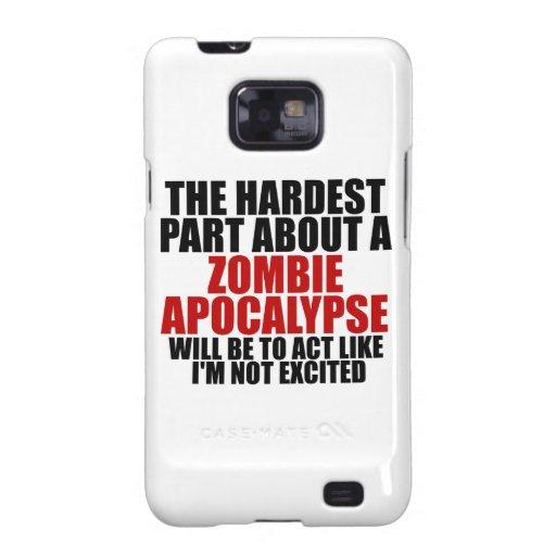 Zombie Apocalypse Galaxy SII Cases